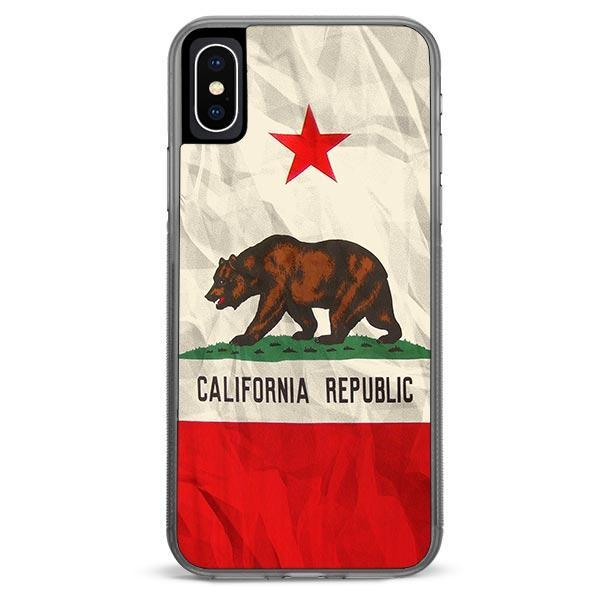 California Flag iPhone Xs Max case