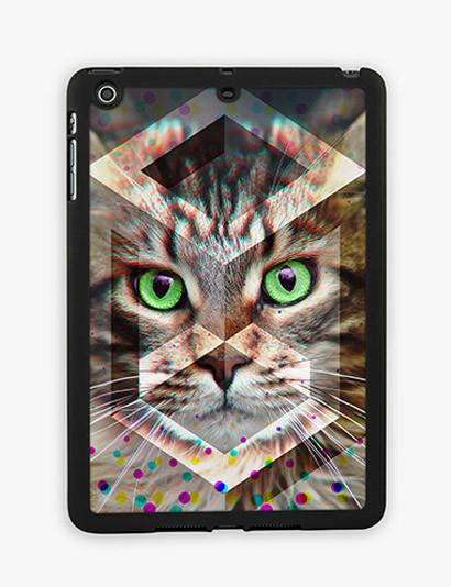 Cat In Prism iPad Mini Case - CRAFIC