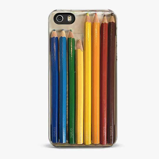Colorful Pencil Set iPhone 5/5S Case - CRAFIC