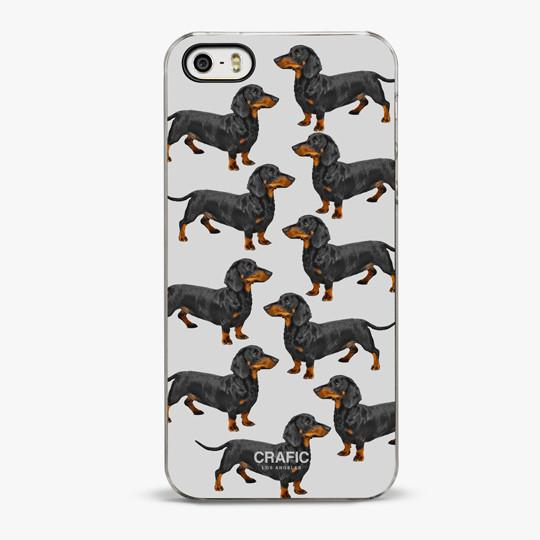 DACHSHUND DREAM IPHONE 5/5S CASE - CRAFIC