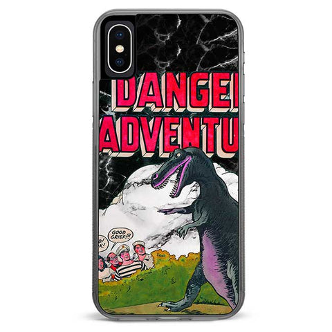 Danger Adventure iPhone Xs / X Case
