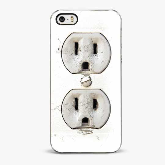 Electric Outlet iPhone 5/5S Case - CRAFIC