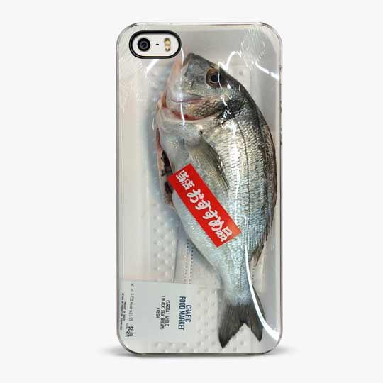 Fresh Fish iPhone SE Case