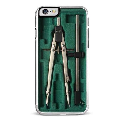 Green Compass Box iPhone 6/6S Case