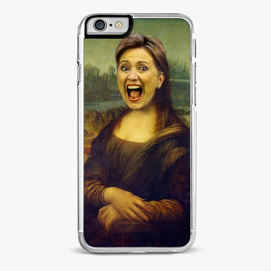 HILLARY MONA LISA IPHONE 7 PLUS CASE-IPHONE 7 PLUS CASE-CRAFIC