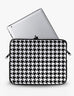 Houndstooth Print Ipad Sleeve