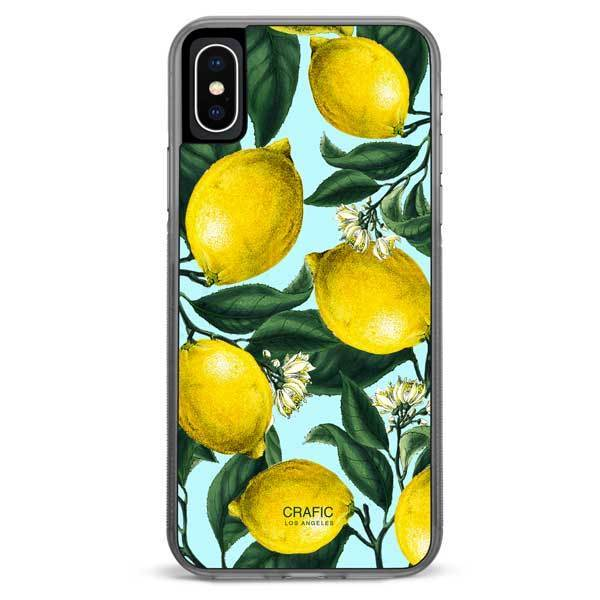 Lemon iPhone XR case