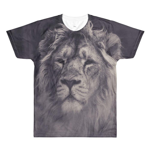 LION MEN'S CREWNECK T-SHIRT