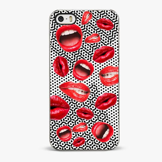 Lips Attack iPhone SE Case