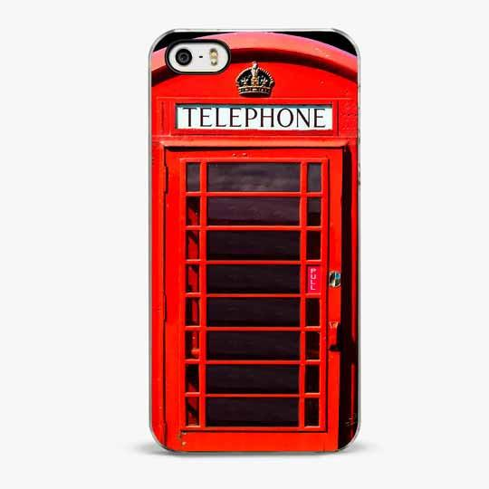 London Phone Booth iPhone SE Case
