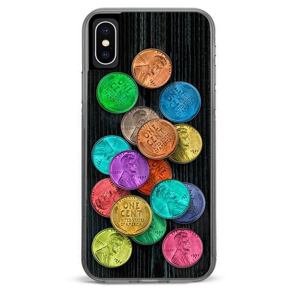 Lucky Pennies iPhone X Case
