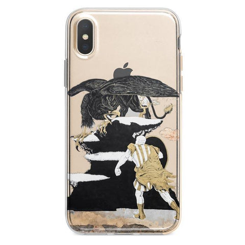 Man and Eagle iPhone 6 / 6s Plus case