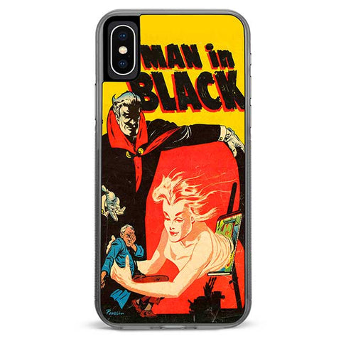 Man in Black iPhone X Case