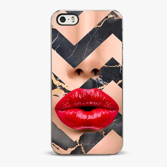 Marble Kiss iPhone 5/5S Case