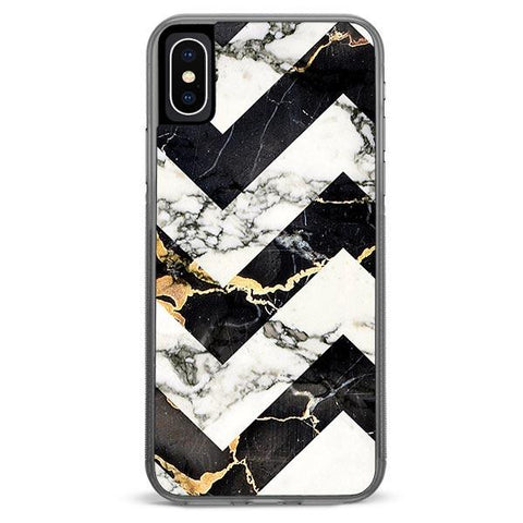 Marble Stripe iPhone X Case