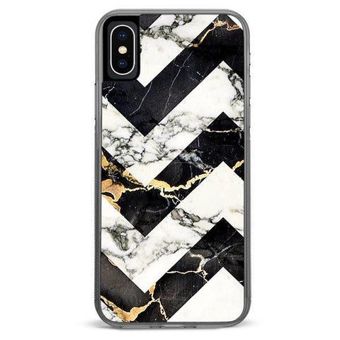 Marble Stripe iPhone Xs Max case