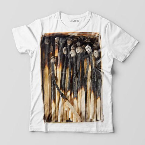 MATCHES BOX GRAPHIC TEE