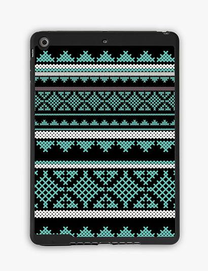 Mint Aztec Ipad Air Case