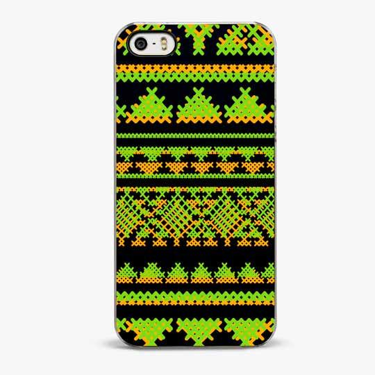 Mint Aztec Pattern iPhone 5/5S Case