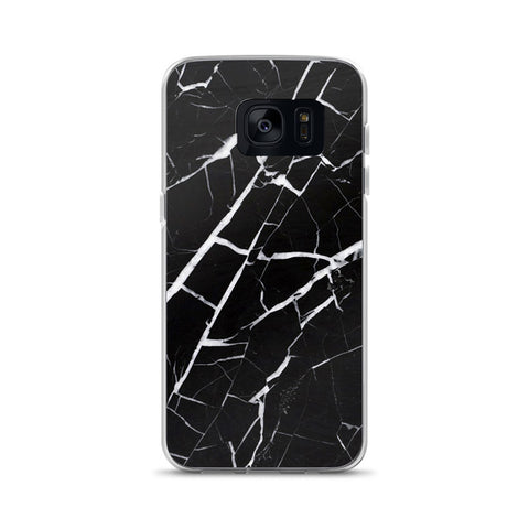 Black Marble Samsung Galaxy Case