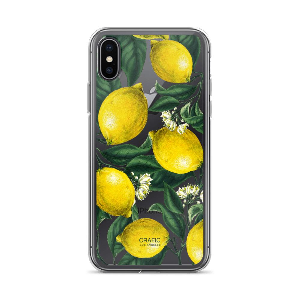 Lemons iPhone Xs Max case