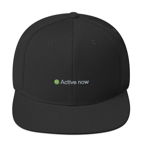 Active Now Snapback Hat