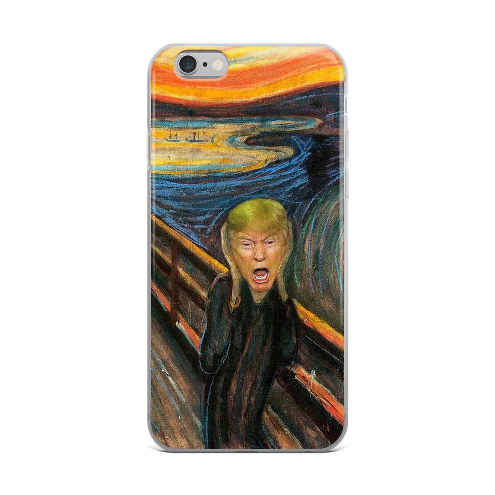 Trump's Scream Limited Edition iPhone Case