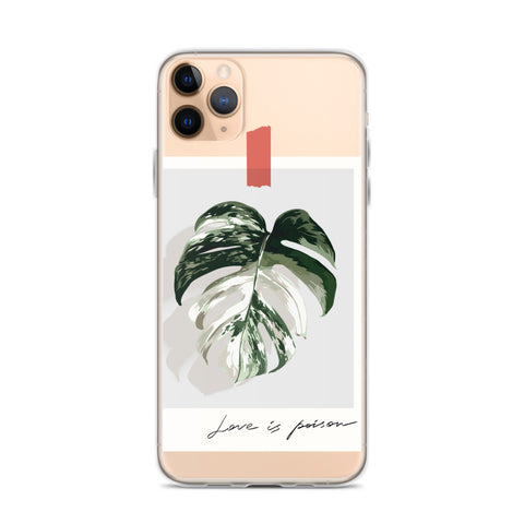 Love is Poison iPhone 11 Case