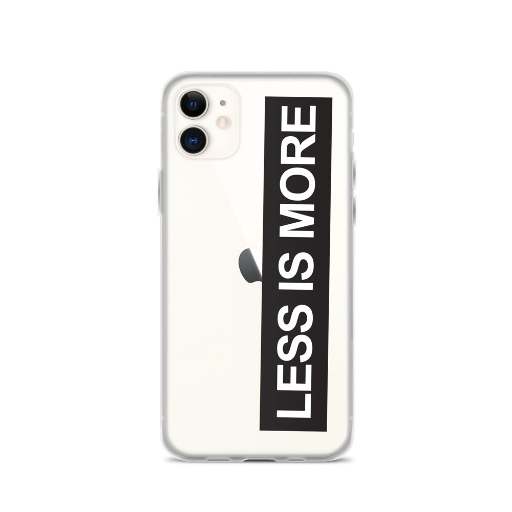 Less is More iPhone 11 Case