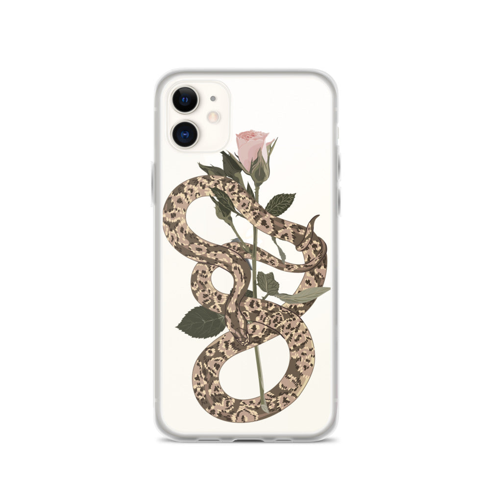 Snake and Rose iPhone 11 Case