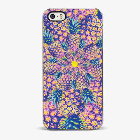 PINEAPPLE SPIRAL IPHONE 5/5S CASE