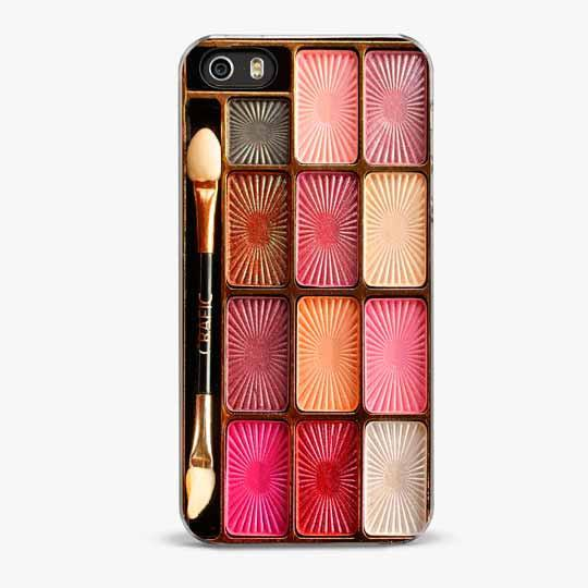 Pinky Makeup Set iPhone SE Case