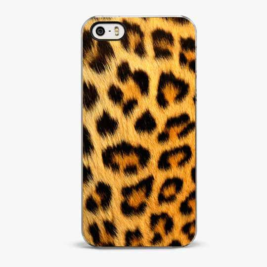 Purrr Leopard iPhone 5/5S Case