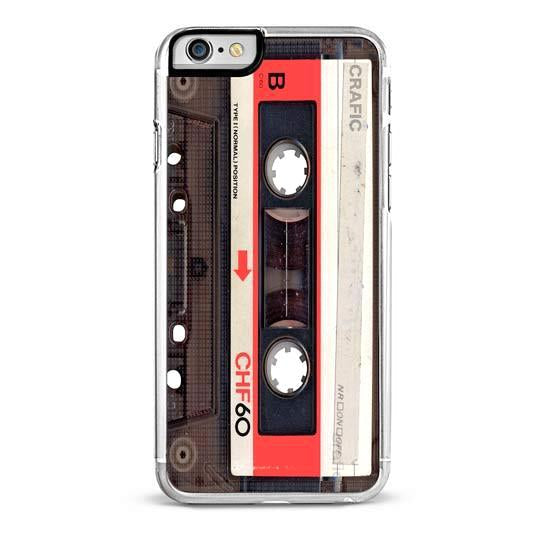 Red Mix Tape iPhone 6/6S Plus Case