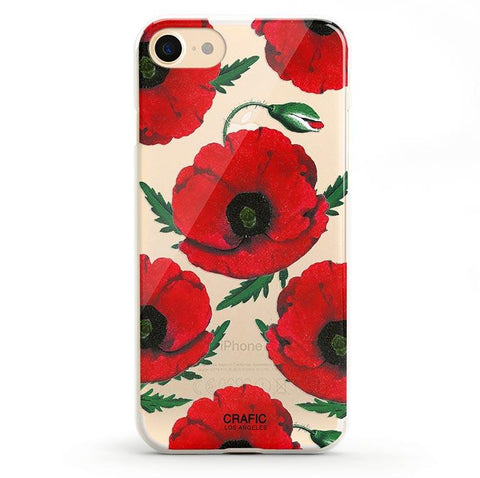Red Poppy iPhone 7 / 8 Case