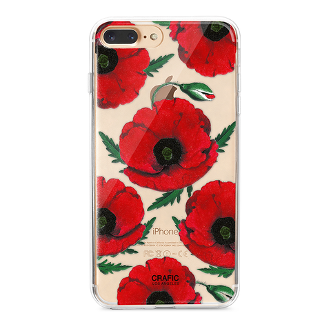Red Poppy iPhone 7 / 8 Plus Case