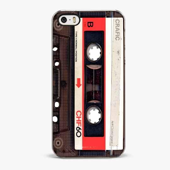 RED VINTAGE CASSETTE IPHONE 5/5S CASE