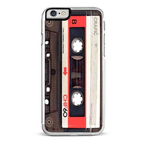 Red Vintage Tape iPhone 6/6S Case
