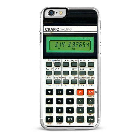 Retro Calculator iPhone 6/6S Case