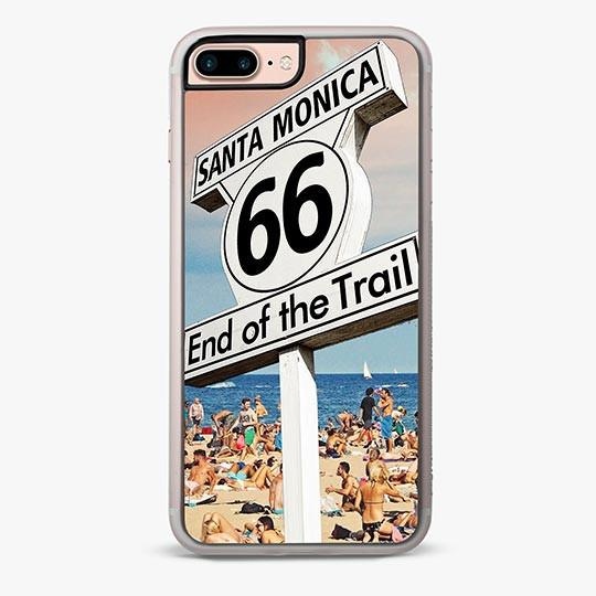 ROUTE 66 SANTA MONICA IPHONE 7 PLUS CASE-IPHONE 7 PLUS CASE-CRAFIC