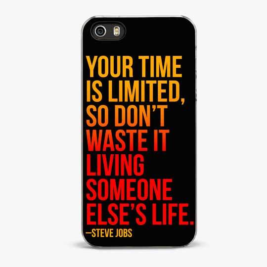Steve Jobs iPhone SE Case