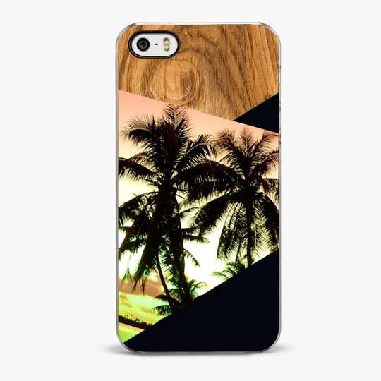 Sunset Palms iPhone SE Case