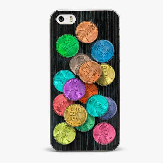 Super Pennies iPhone 5/5S Case