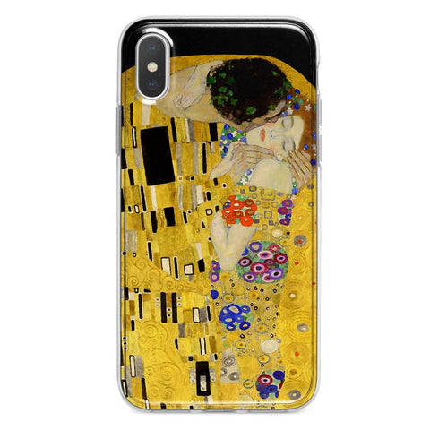 The Kiss by Klimt iPhone Xs Max case