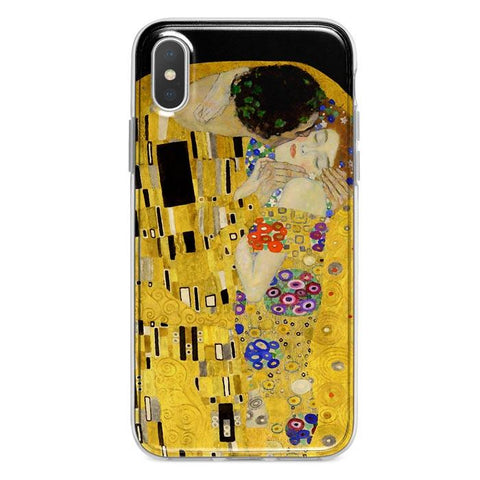 The Kiss by Klimt iPhone XR case