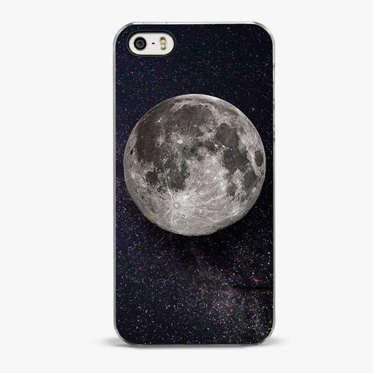 The Moon iPhone SE Case