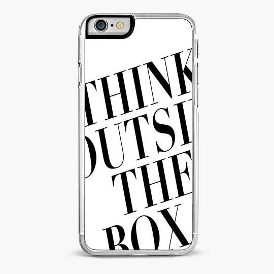 THINK OUTSIDE THE BOX IPHONE 7 PLUS CASE-IPHONE 7 PLUS CASE-CRAFIC