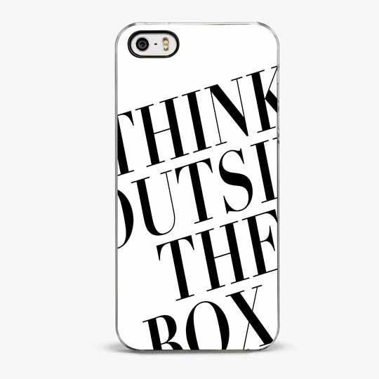 Think Outside The Box iPhone SE Case