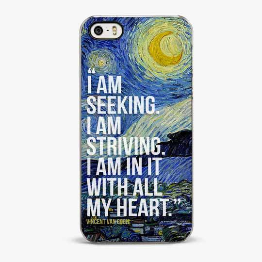 Van Gogh iPhone SE Case