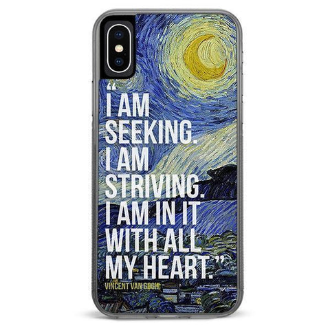 Vincent Van Gogh iPhone Xs Max case